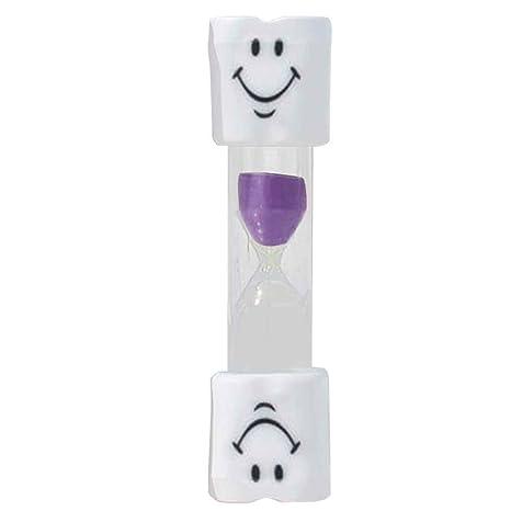 Regard Natral Niños Cepillo de dientes temporizador 2 Minutos Smiley reloj de arena para el cepillado