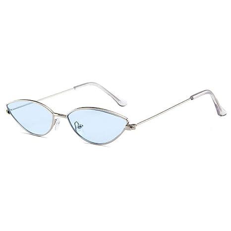 Yangjing-hl - Gafas de Sol para Hombre (Montura pequeña), 06 ...