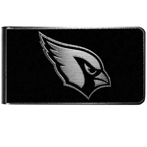 NFL Arizona Cardinals Black & Steel Money Clip