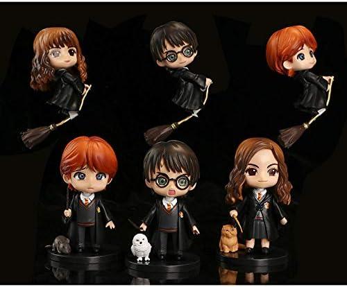 PsWzyze 6 Harry Potter Montando Escoba Mago Hermione ...