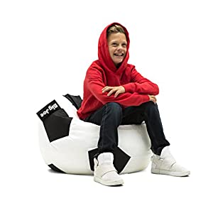 Big Joe 0615137 Soccer Ball Bean Bag Chair, SoccerBall
