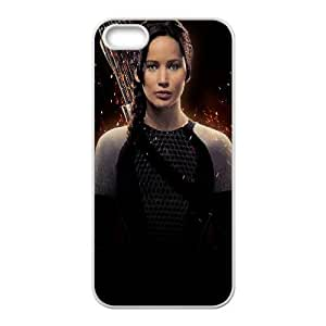Katniss Everdeen The Hunger Games Catching Fire Movie iPhone 4 4s Cell Phone Case White gife pp001_9264289
