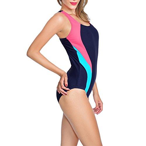 Quality Ladies Bathing Laixing Multi Women's Swimwear 1537 Swimsuit Swimming Suit Costume 5nnZFHw