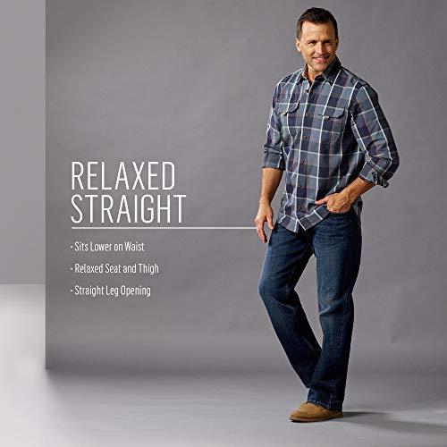 Wrangler Jeans Dark Wrangler Homme Stretch Jeans 46Rwa
