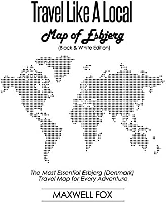 Travel Like a Local - Map of Esbjerg (Black and White ...