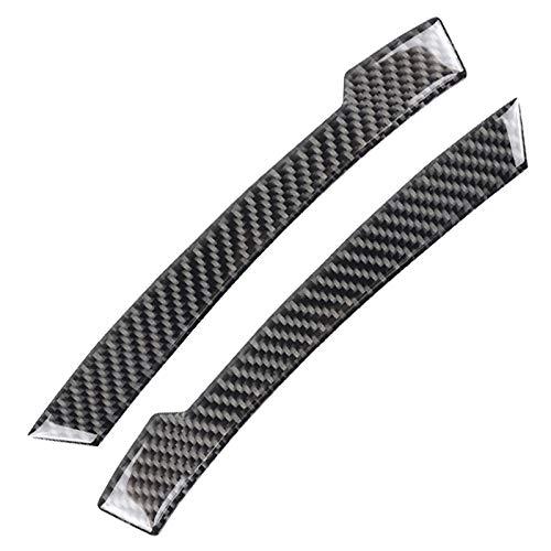 Andifany Carbonio Specchietto Retrovisore nel Fibra Strisce nti-Sfregamento desivo nticollisione per Mercedes W204 W212 Un//B//C//e//G//R Classe Gla Gle Glk CLS Gls Nero