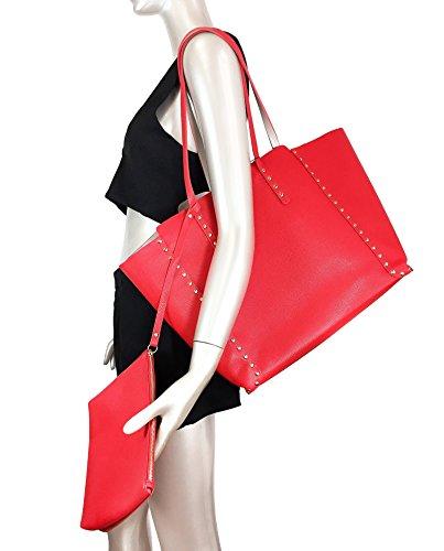 Femme clous 6000 Zara réversible à Shopper 304 d1wUnIaqBn