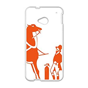 Hermes design fashion cell phone case for HTC One M7
