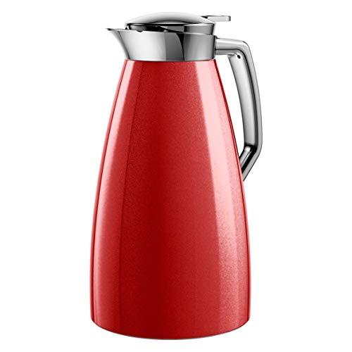 Emsa f4140300 Plaza – Jarra térmica, plástico ABS, 1 L), color rojo