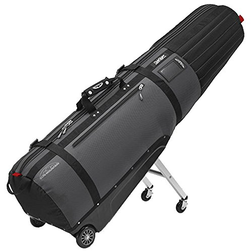 Sun Mountain Golf 2016 CLUBGLIDER MERIDIAN Travel Cover Bag - Black/Gunmetal by SUN MOUNTAIN SPORTS