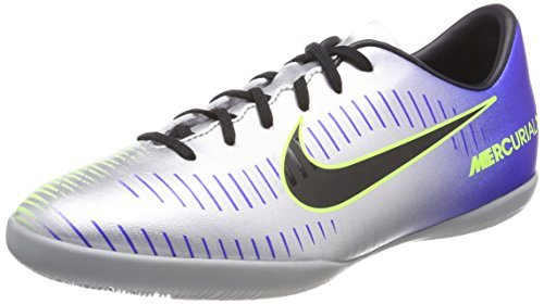 Nike Football Kids' Black Multicolour Racer chr 6 Jr Boots Unisex MercurialX Ic Blue Vctry 407 NJR frW8fOv