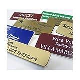 #1: Engraved Name Tags Custom