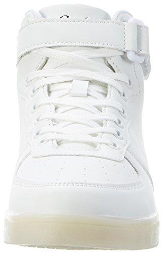 Conway 207462, Scarpe da Ginnastica Alte Unisex-Adulto, Bianco (Weiß), 37 EU