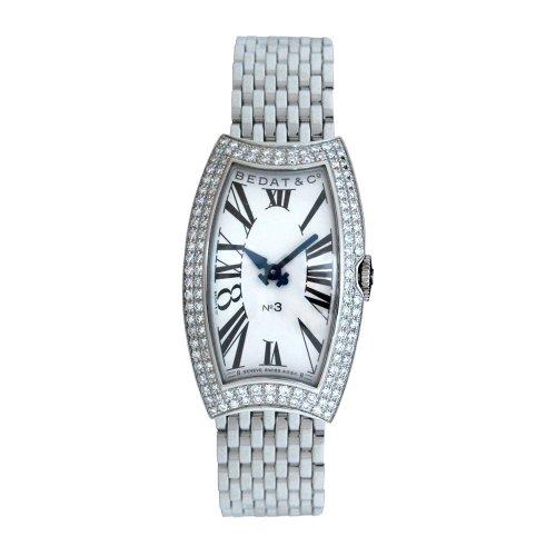 Bedat & Co. Women's 384.051.600 No.3 Diamond Bracelet Watch