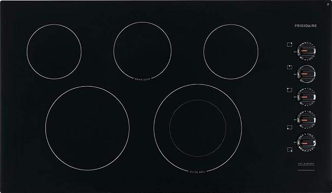 Amazon.com: Frigidaire FFEC3625UB - Placa de cocina ...