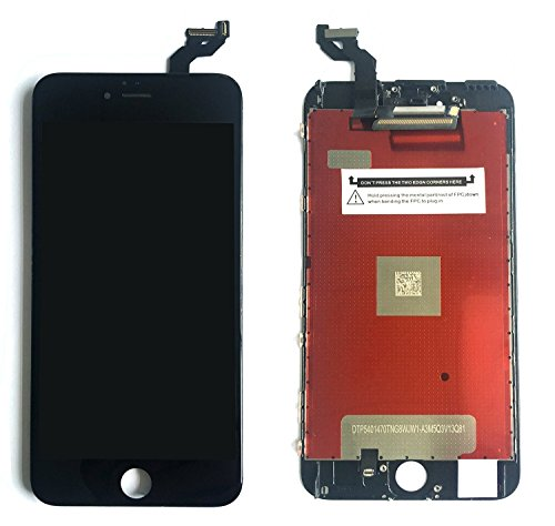 Replacement LCD Screen Digitizer and LCD Display 3D Touch Screen Replacement Front Glass With Digitizer Assembly for iPhone 6s 4.7 inch LCD Black