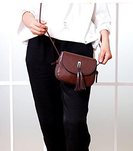 Hombro Mujer Crossbody Kigurumi Rojo Vintage W8e6f Para Small Bolsos WnxPrBx
