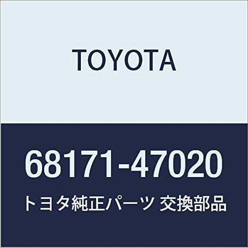 TOYOTA Genuine 68171-47020 Door Glass Weatherstrip