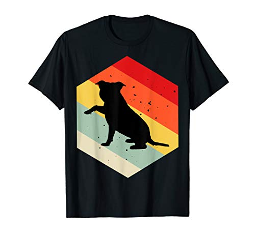(Red Staffordshire Bull Terrier Shirt For Dog Lovers Cute Dog)