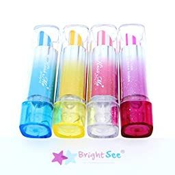 BrightSee® Lipstick Creative Pen-Style Eraser(Set of 4 Pack)