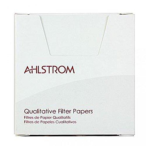 Grade 642 Ahlstrom 6420-0750 Eaton-Dike Filter Paper 2 Micron Case of 100 7.50cm Diameter Medium Flow