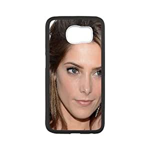 Celebrities Ashley Greene Portrait Samsung Galaxy S6 Cell Phone Case White phone component RT_372150