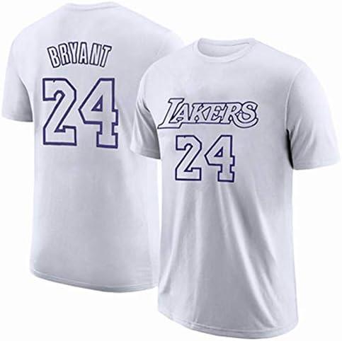 Gflyme Lakers Kobe 1996-2016 Retirada Camiseta Conmemorativa Kobe Algodón 8-24 Apariencia de Baloncesto Vestido de Manga Corta Basketball Vest (Color : White, Size : M): Amazon.es: Hogar