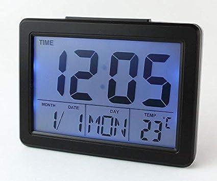 Soytich – Reloj digital despertador Alarma Reloj Despertador Digital (2619s)