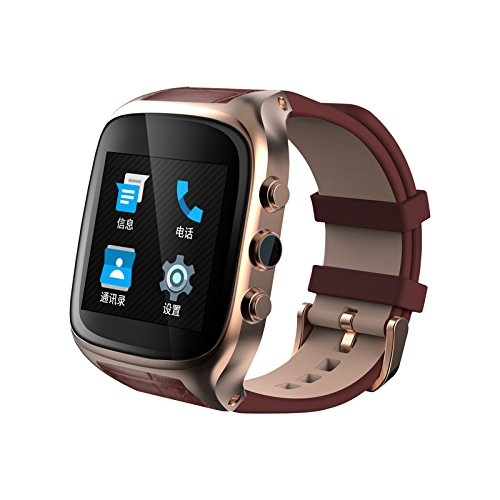 2877ac7a3 Amazon.com  Ourtime X01S Waterproof Smart Watch Phone Android 5.1 OS ...