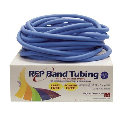 (Rep Band Latex-Free Tubing - 25' - Level 4/Blue)