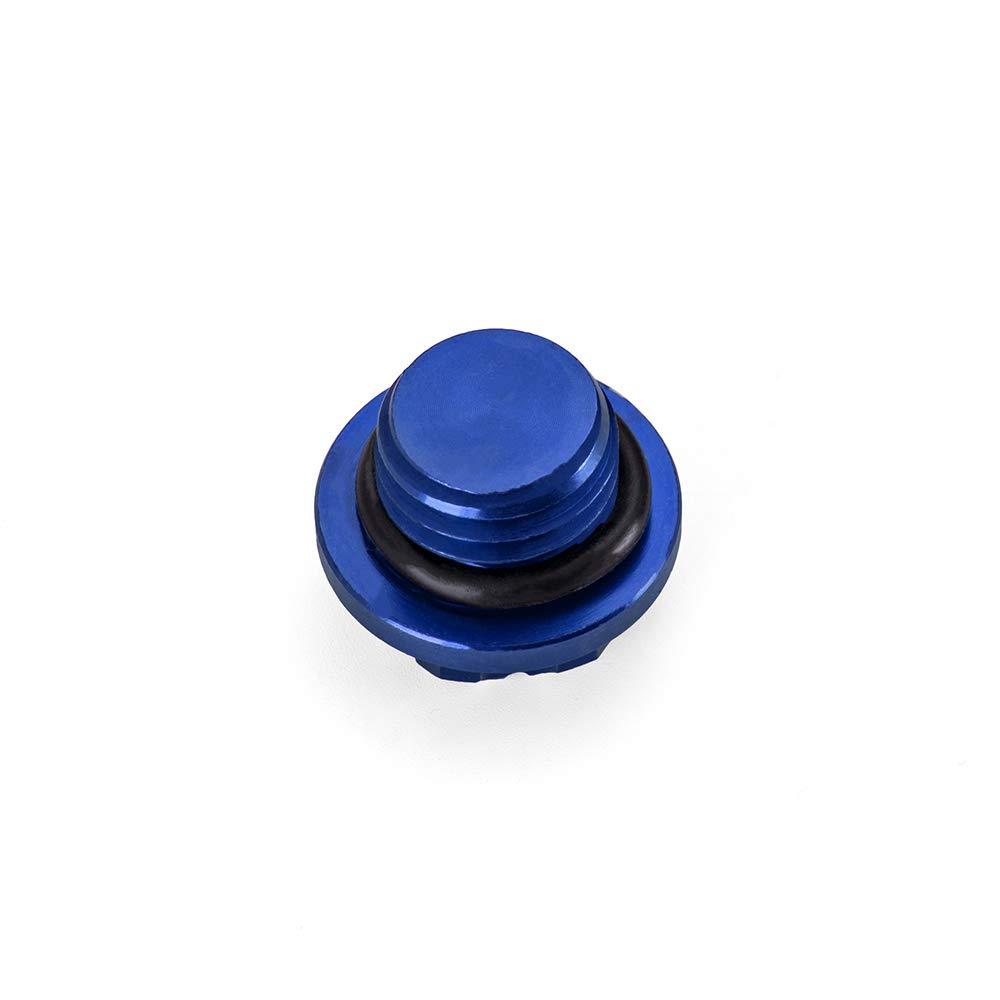 MOTO4U Motorcycle CNC Aluminium Oil Filler Cap 24x2.0mm for BMW S1000RR 2009 to 2015 In Blue