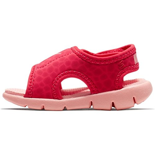 NIKE Sunray Adjust 4 (TD) Baby-Boys Slippers 386521-608_5C - Tropical Pink/Bleached Coral