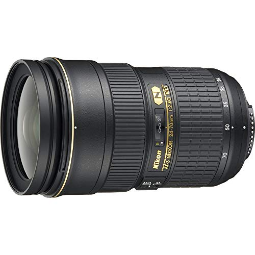 Nikon 24-70mm f/2.8G ED Auto Focus-S Nikkor Wide Angle Zoom Lens (Renewed) (Nikkor 24 70mm F 2-8 G Ed)