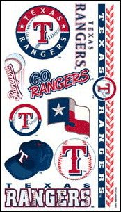 MLB Texas Rangers 14799031 Tattoos (Rangers Tattoo)