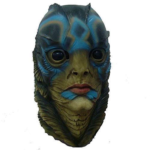 Littlefairy Halloween mask,Latex Movie Props Soft Helmet Full