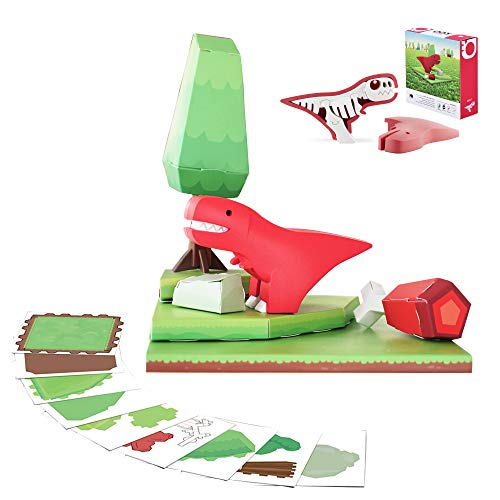 HALFTOYS: My Cute and Crafty Pet Dinosaur, T-Rex (Craft, Magnet, Puzzle, Play and Display!) -