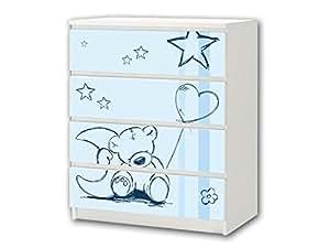 39 Teddy Azul 39 Pegatina De Muebles M4k18 Pegatinas