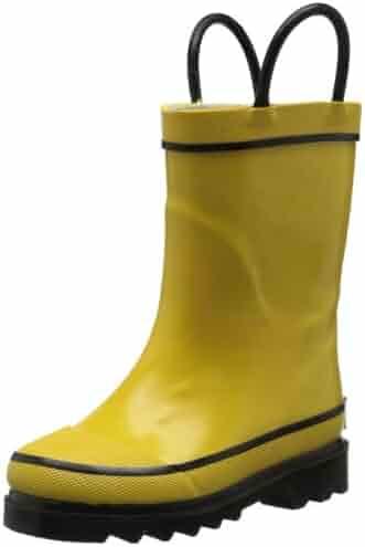 Western Chief Firechief 2 Rain Pull-On Boot (Toddler/Little Kid/Big Kid)