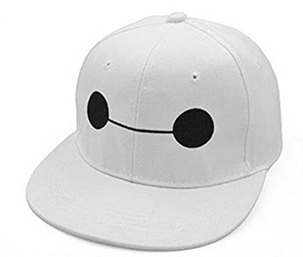 0dd8173feda Image Unavailable. Image not available for. Color  Wintimes Big Hero 6  Baymax Hat Basketball Caps ...