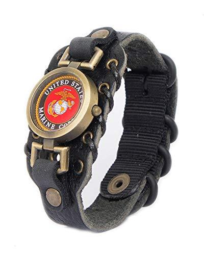 Lost Tribe Designs Mens US Marines Bracelet