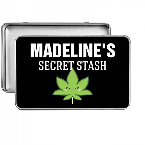 Madeline's Secret Cannabis Stash: Small Rectangle Storage (Madeline Tin)