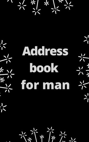 Address book for man - Man Stationery