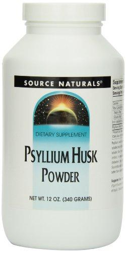 Source Naturals Psyllium Husk Powder, 12 Ounce (Pack of 4), Health Care Stuffs