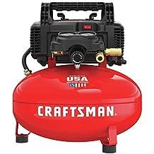 Craftsman CMEC6150R 0.8 HP 6 Gallon Oil-Free Pancake Air Compressor (Renewed)