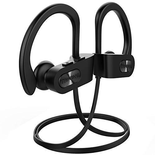 199f20ff15b2b Mpow Bluetooth Wireless IPX7 Waterproof Earphones with  Amazon.in   Electronics
