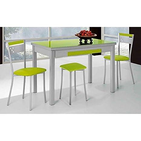 Amuebla 773. Mesa DE Cocina Extensible DE 100 X 60 CM ...