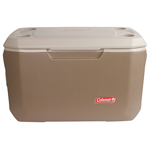 Coleman 70-Quart Xtreme 5-Day Heavy-Duty Cooler, Tan