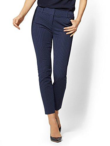 Pinstripe Slim Pant - 8