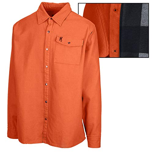 Browning Stagg Shirt Jacket (XL)- Spicy Orange
