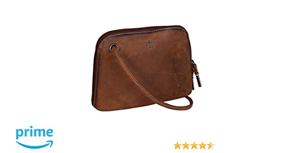 b2a27cb03933 STS Ranchwear Women s The Baroness Crossbody Brown One Size  Handbags   Amazon.com